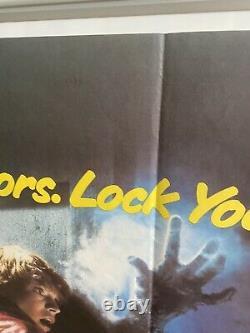 La Fog Originale Britannique British Quad Affiche De Film (1980) John Carpenter 30x40