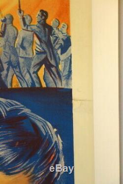La Malédiction Du Loup-garou Sortie D'origine Britannique Affiche De Film Quad