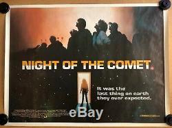 La Nuit De La Comète - Affiche Du Film De Cinéma Britannique Original Quad - Rare Cult Classic