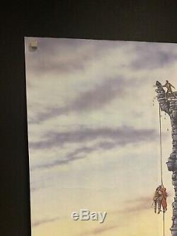 La Princesse Bride (1987) Original Uk Quad Affiche Du Film Cinéma