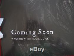 La Sorcière 2016 Affiche Originale Britannique Quad Movie Movie D / S Black Phillip The Vvitch
