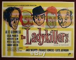 Ladykillers Vintage Ealing Film Publicité Film U Quadre James Bond 1955