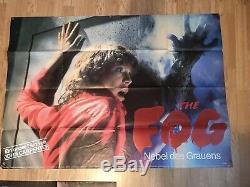 Le Brouillard Affiche De Cinéma Britannique Originale Quad Cinema John Carpenter Allemand