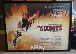 Le Cinéma Britannique D'origine Goonies Années 1980 Affiche Quad Film