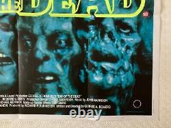 Le Jour Des Morts Affiche De Cinéma Originale Quad 1985 George A. Romero Zombies