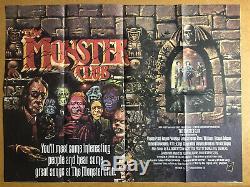 Le Monstre Du Club D'origine Britannique Quad Cinema Affiche Du Film, Graham Humphreys