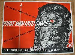 Le Premier Homme Dans L'espace Affiche Originale Du Film Uk Quad