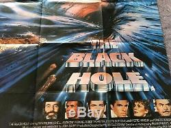 Le Trou Noir 1979 Orig. British Quad Affiche Du Film 30x40 (vf) Sci-fi Thriller