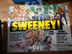 Les Années 1970 Film Quad Sweeney Au Royaume-uni Affiche