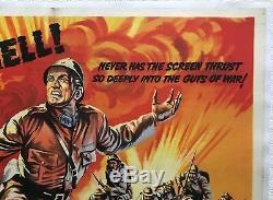 Les Chemins De La Gloire Affiche Originale Du Film Quad 1957 Kirk Douglas, Stanley Kubrick