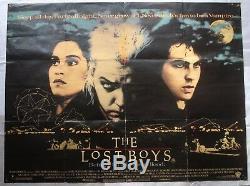 Les Garçons Perdus, Affiche Originale Britannique De Cinéma De Film De Film De 1987 1987