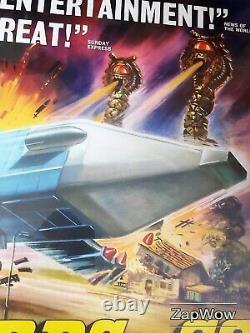 Les Thunderbirds Are Go 1966 Zero-x Anderson Original Vintage Uk Film Quad Poster