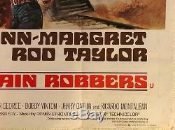 Les Voleurs De Trains Affiche Originale Du Film Quad 1973 John Wayne Renato Casaro Art