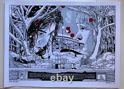Let The Right One In Tyler Stout Vampire Film Poster Royaume-uni Quad Edition S/n