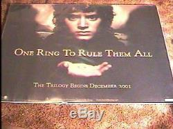 Lord Of Rings Fellowship Adv. Quad Affiche De Film Ds