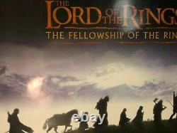 Lord Of The Rings Fellowship Of The Ring #2 Affiche De Promo Originale British Quad