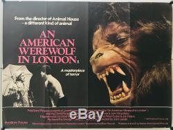 Loup-garou À Londres Au Royaume-uni Quad (1981) Film Affiche Originale