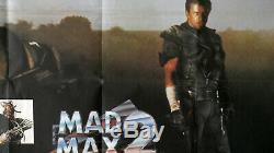 Mad Max 2 The Road Warrior Originale Uk Quad Movie Poster 1981