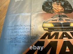 Mad Max Quad Affiche De Film Original