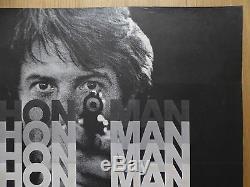 Marathon Man (1976) Affiche De Film / Affiche Originale Britannique, Dustin Hoffman, Crime