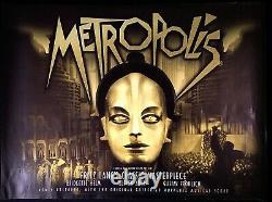 Metropolis Original Quad Movie Affiche Fritz Lang 2000s Rr