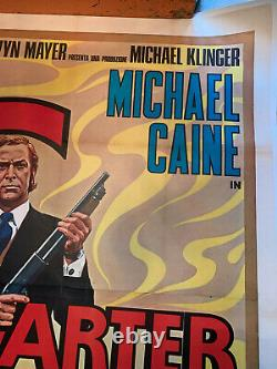 Michael Caine, Get Carter Quad Affiche Du Film
