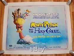 Monty Python Et Le Saint-grail 1975 Poster 50e