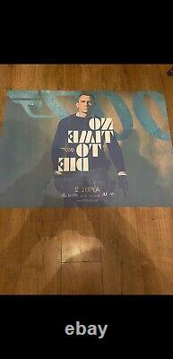 No Time To Die James Bond 007 Original Uk Quad Movie Poster Avril 2 Date. Nouveau