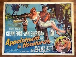Nomination Au Honduras Affiche Du Film De Quad Britannique