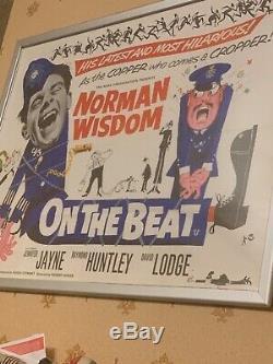 Norman Wisdom Affiche De Film Quad