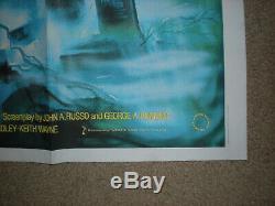 Nuit Des Morts Vivants Rr Orig Brit Quad 30x40 Affiche Film Horreur George Romero