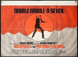 Octopussy Et Pour Vos Yeux British Quad 30x40 James Bond 007 Filmartgallery