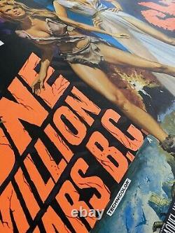 One Million Years B.c. / She Uk Quad Original Linen Backed Film Poster (1968)