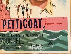 Opération Petticoat Originale Britannique Film Quad Affiche De Film 1959 Cary Grant
