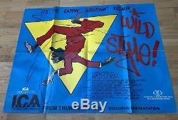 Original 1982 De Style Sauvage Breakdance Hip Hop Movie Uk Quad Cinema Poster Poster Plié