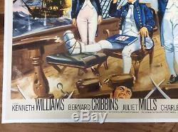 Original Carry On Jack, Affiche Britannique, Film / Film, 1963