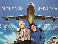 Original Millésime Royaume-uni Poster Quad Planes Trains And Automobiles
