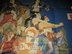Original Sex Pistols Great Rock N Roll Swindle Quad Affiche Du Film