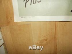 Originale Samedi Soir Et Dimanche Matin Uk Quad 1961 Film Stafford Poster