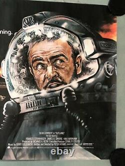 Outland Original Uk Movie Quad (1981) Sean Connery