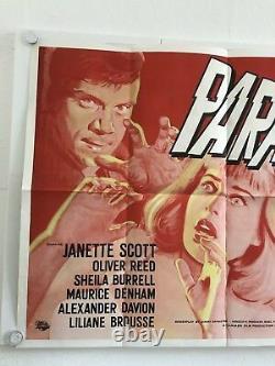 Paranoiac Original Uk Quad Filmplakat Jahr 1963 Janette Scott