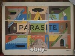 Parasite La Boca Variante Originale Uk Quad Cinema Film Movie Poster Bong Joon-ho