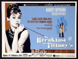 Petit Déjeuner À Tiffanys Audrey Hepburn 2001 Bfi Quad