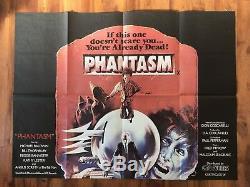 Phantasm 1978 Quad Britannique Affiche Du Film Horreur