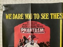 Phantasm & Don't Go In The House Original Db Movie Quad Poster 1979 Vidéo Nasty
