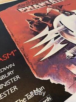 Phantasm Uk British Quad Entoilée (1979) Film Affiche Originale