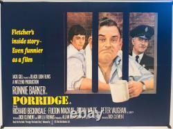 Porridge Uk Quad (1979) Affiche Originale Du Film
