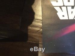 Poster Film Original Britannique De Star Wars