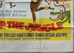 Poursuivez La Jungle 1970 Affiche De Cinéma Original Quad Cinema