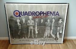 Quadrophenia (1979) D'origine Affiche Du Film Quad Uk Première Version Mods The Who